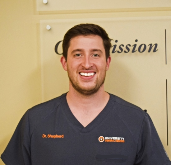 Dr Kevin Shepherd a knoxville dentist with university general dentists in knoxville tn