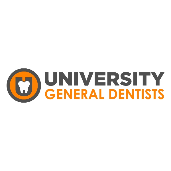 University General Dentists, a Knoxville dentist, logo on a white background